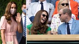 Kate hyllas för klädvalen under stora sporthelgen