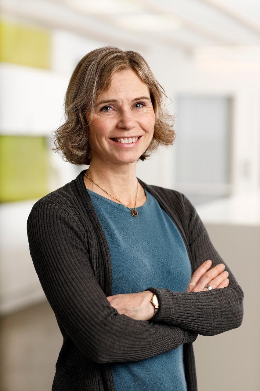 Anneli Widenfalk på Livsmedelverket.