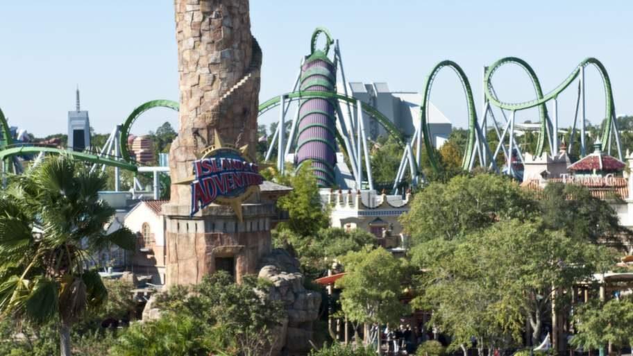 I den amerikanska nöjesparken Universal Orlando har stora delar av Potters värld byggts upp.