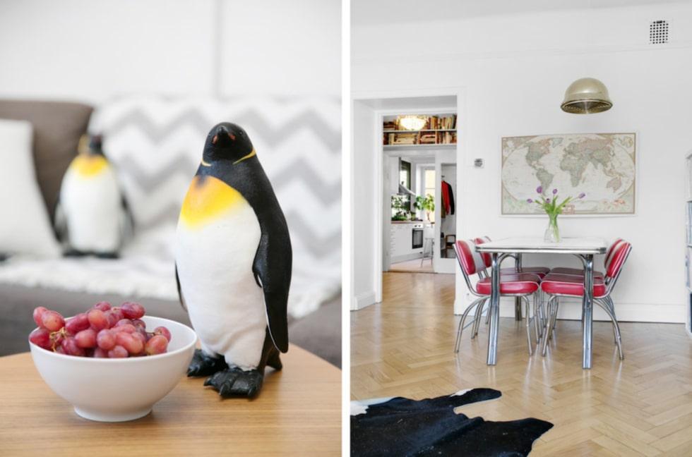 """""""Pingviner ger ett positivt intryck på de flesta människor. Har du träffat någon med pingvin-fobi?"""", säger Bo Lingserius."""