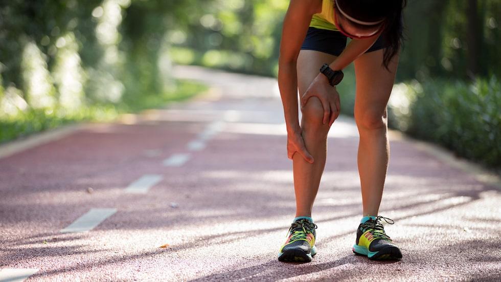 Att stretcha före träning minskar risken för kramp.