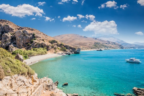 Reser du till Kreta på höstlovet är vädret mer likt svensk än grekisk sommar. Det är en skön tid.