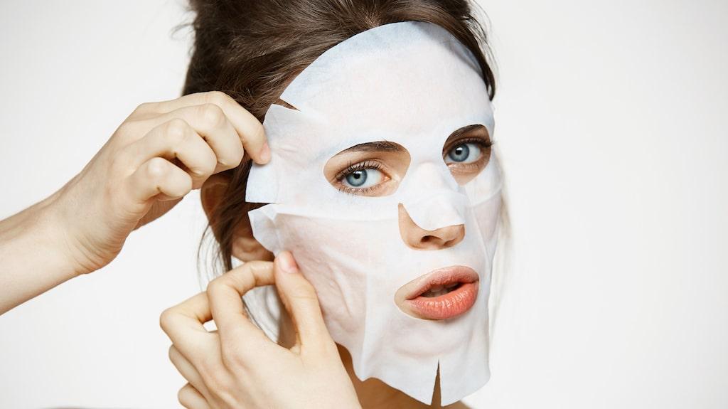 Ansiktsmasker kan göra underverk för huden.