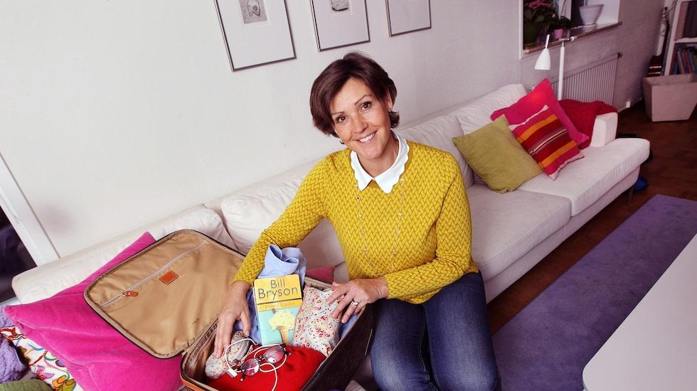 Lottie Knutson delar med sig av sina smarta packtips.