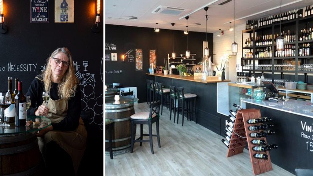 Jeanette Boman är en av grundarna till Swedish Wine Center, med flest svenska viner på vinlistan.