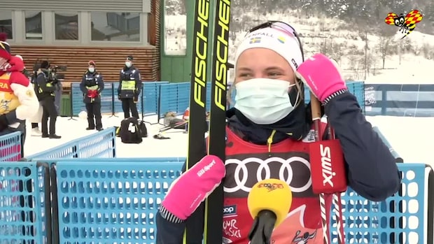 """Linn Svahn: """"Nu dunkar vi in en trippel igen"""""""