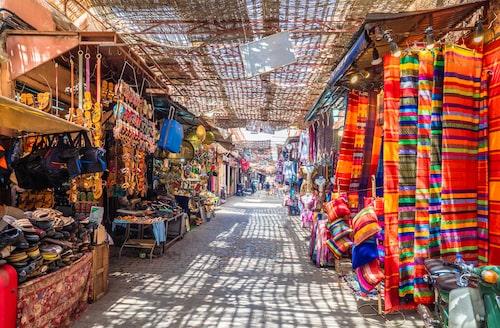 Allt du behöver finner du på en Souk i Marrakech!