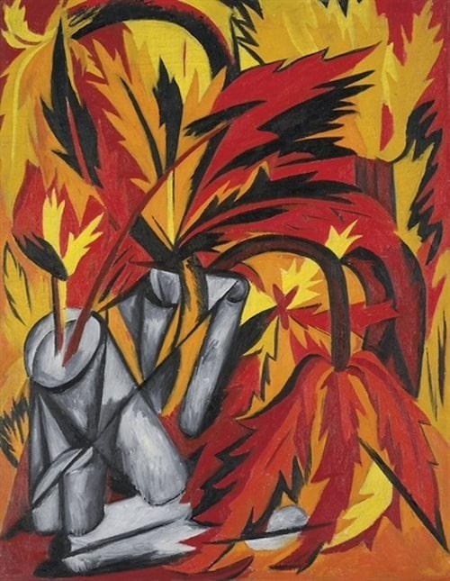 "Natalia Gontjarovas ""Les Fleurs""."