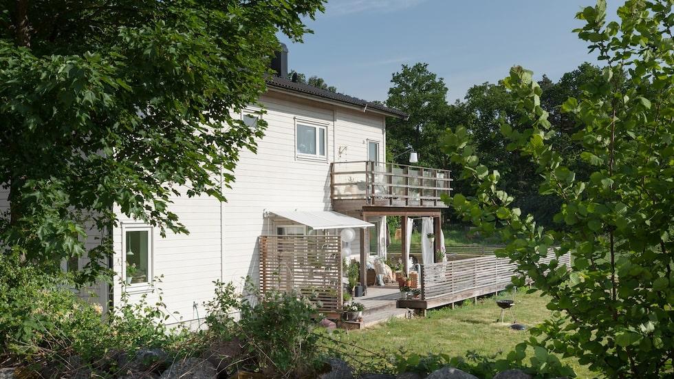 Marika och Victor villa är byggd 2010 och ligger i Rinkabyholm utanför Kalmar.