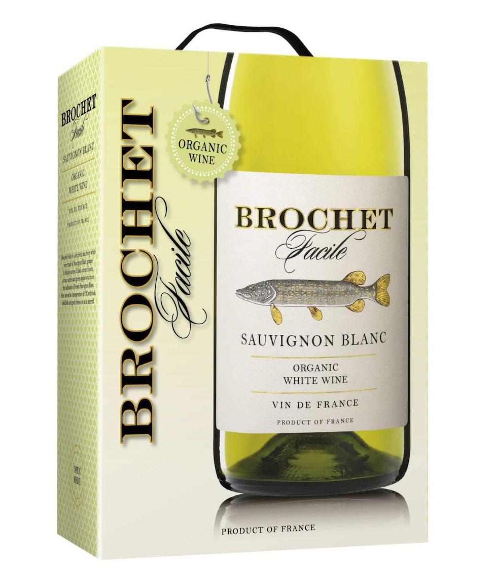 VittBrochet Facile Sauvignon Blanc 2013 (5389) Frankrike, 219 kr (3 l)Ekologiskt boxvin i ung och fräsch stil. Syrliga toner av vinbär, citrus och nässlor. Utmärkt till en buffé med mycket grönt.