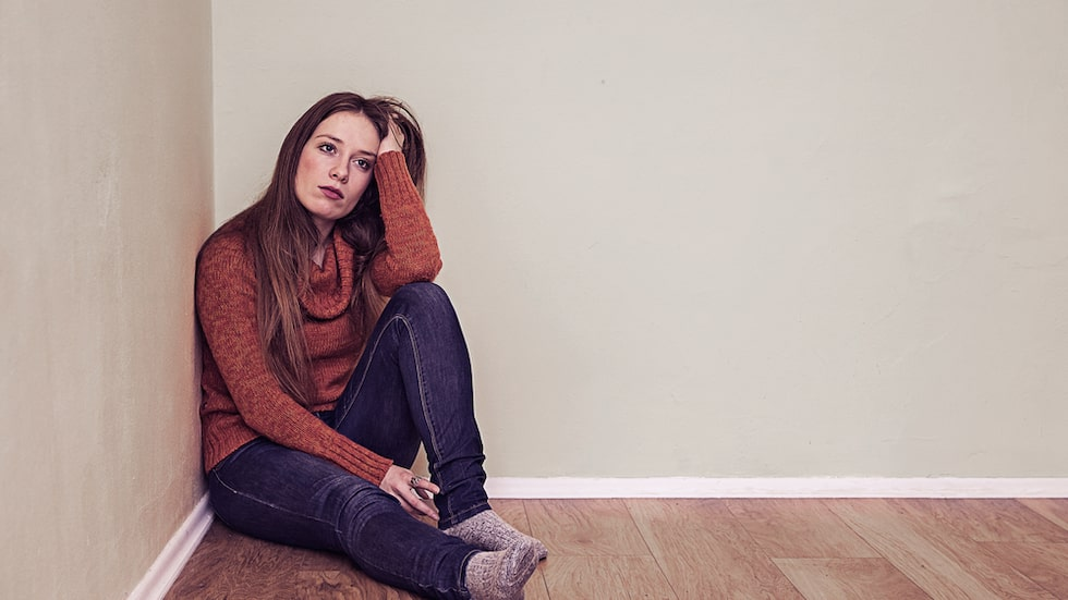De bilder som deprimerade väljer att lägg ut på Instagram skiljer sig från