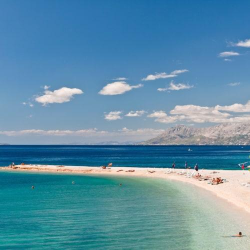Makarska – ett badparadis.
