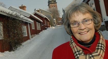 Ingrid Johansson Fjelkman, 74, vill varna andra kvinnor.
