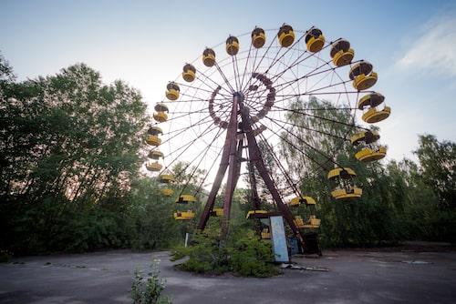 Nöjesparken i Pripyat öppnade dagen efter Tjernobylkatastrofen 1986 – och har stått övergiven sedan dess.