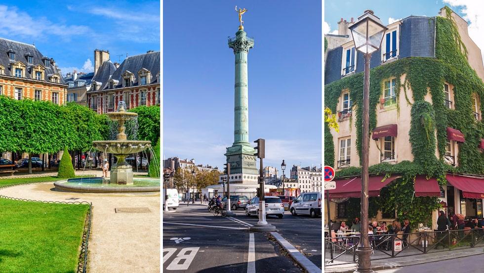 Missa inte genuina Marais om du är i Paris.