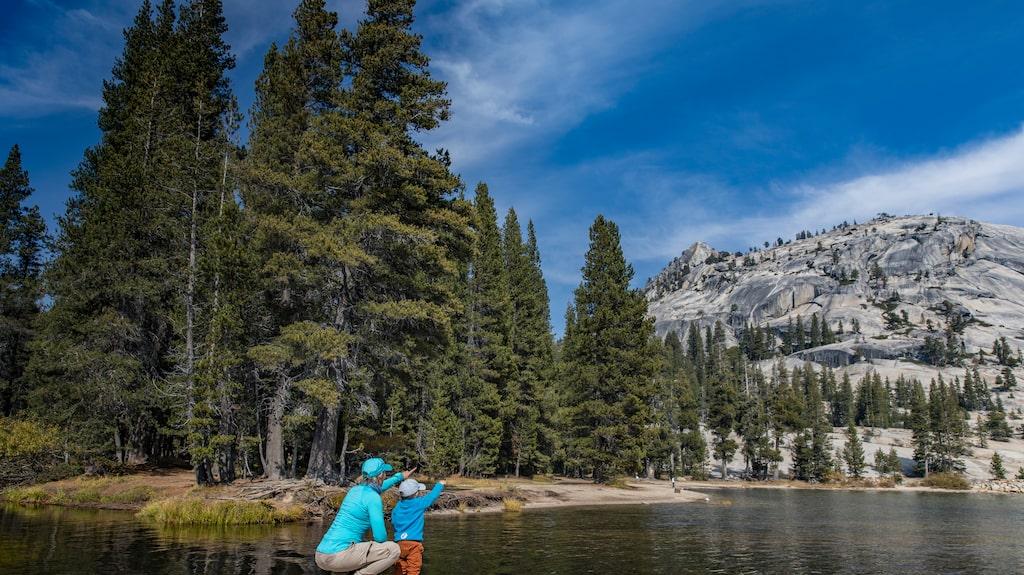 Tenaya Lake i Yosemite.
