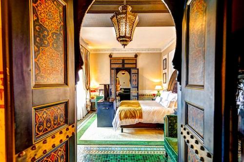 Winston Churchill bodde på berömda (och überlyxiga) hotellet La Mamounia när han besökte Marrakech.