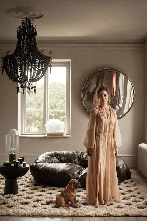Marie Olsson Nylander har stylat kollektionen som även fotograferats i hennes hem i Höganäs.