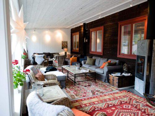 Att bo på Olarsgården i Sälen är mer än hemtrevligt