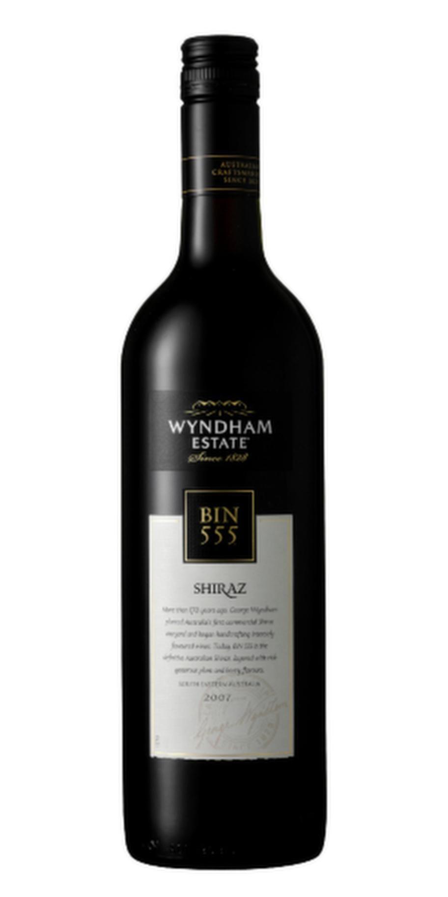 <strong>4 VINER ATT PROVA</strong><br>3. Bin 555 Shiraz Wyndham Estate 2010 (6829) Australien, 99 kr.