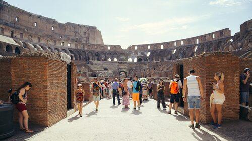 Man hoppas kunna få i gång en regelbunden nöjesverksamhet i den legendariska arenan och locka stora publikmängder, som för nära 2000 år sedan.