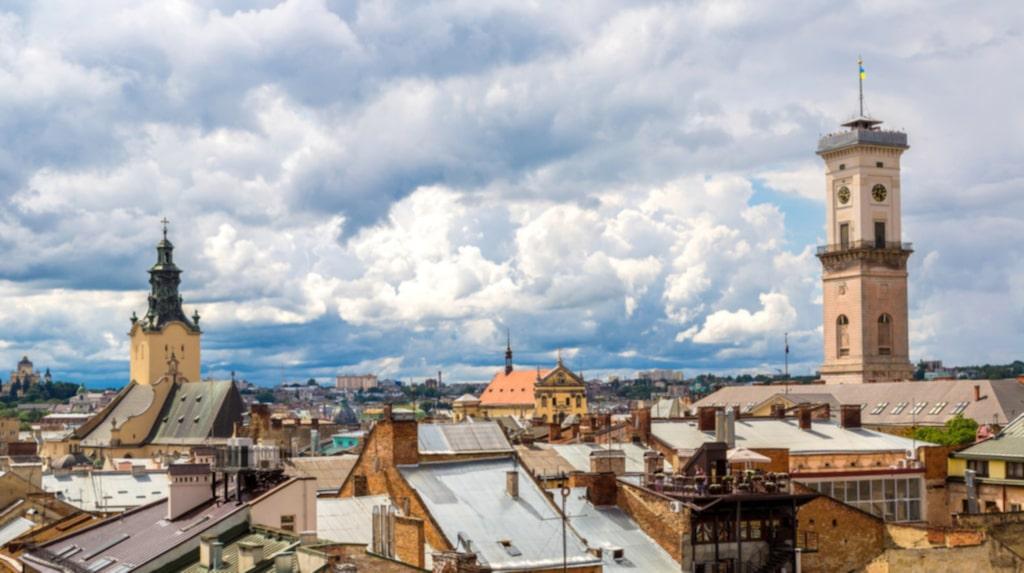 <p>Lviv – Ukrainas pärla och festivalstad.</p>