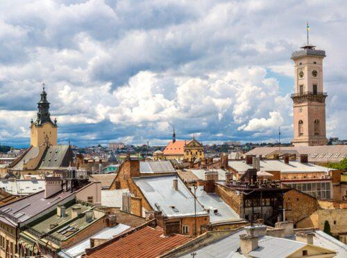 Lviv – Ukrainas festivalhuvudstad.
