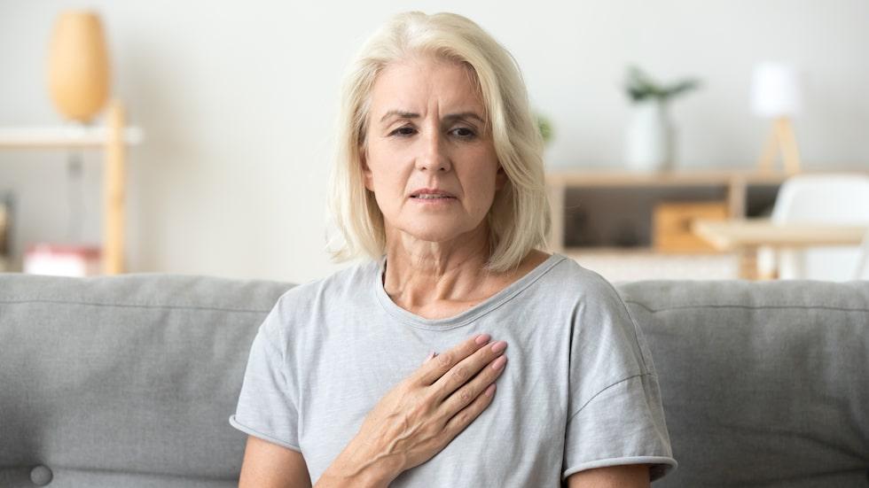 En hjärtinfarkt kan komma både plötsligt och gradvis.