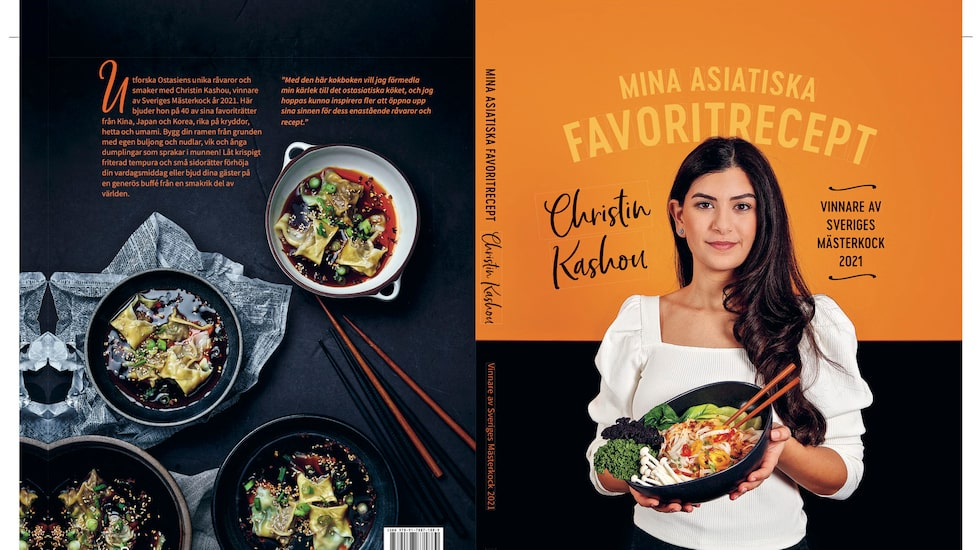 """Christin Kashou släpper nu kokboken """"Mina asiatiska favoritrecept"""". Hon älskar asiatisk mat."""