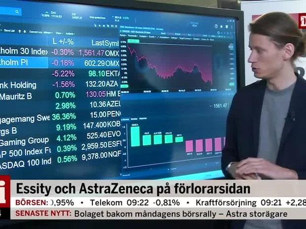Marknadskoll: Essity och AstraZeneca i botten