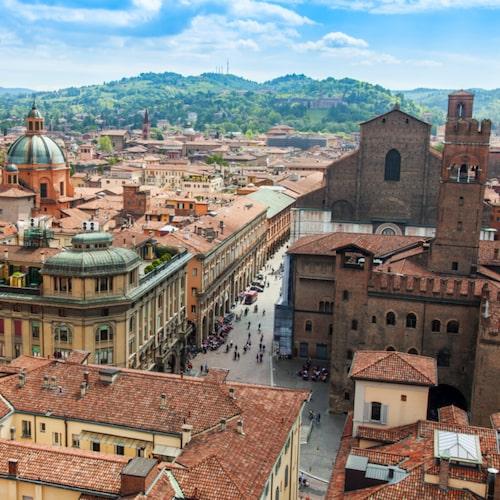 Bologna är hjärtat i Norditaliens kultur.