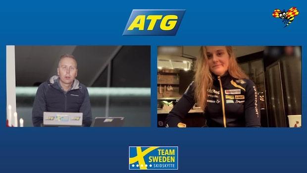 """Stina Nilsson uttagen till IBU-cupen: """"Jag är redo"""""""