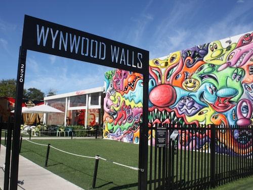 Wynwood är graffittikonstens Mecka.